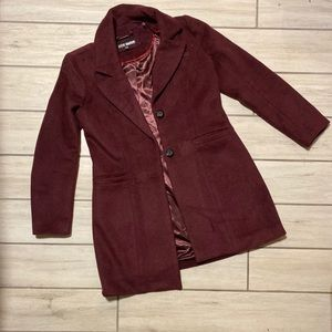 Woman's duster style coat